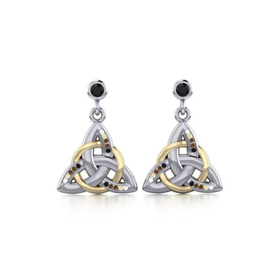 Celtic Trinity Knot Earrings MER704