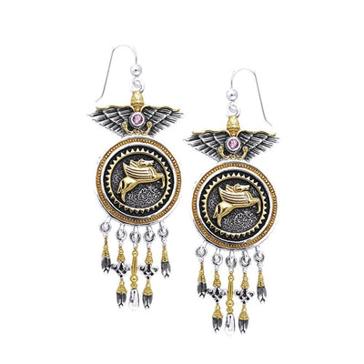 Amy Zerner Pegasus Earrings MER862
