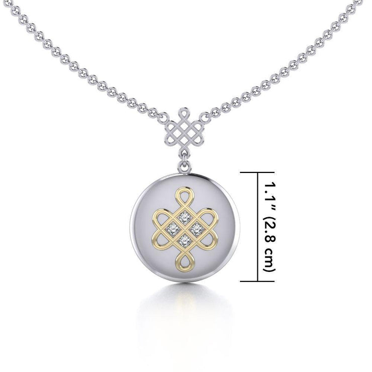 Chinese Mystic Knot Necklace MNC357