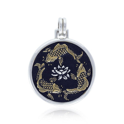 Chinese Fish Feng Shui Pendant MPD3753