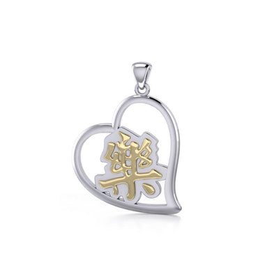 Happiness Feng Shui Heart Pendant MPD3781