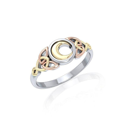Magick Moon Three Tone Ring OTR1746 Ring