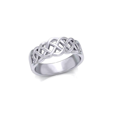 Celtic Knotwork Silver Ring SM227