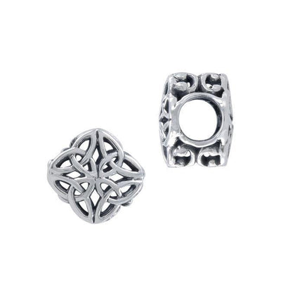 A meaningful start to last ~ Celtic Knotwork Sterling Silver Bead TBD184