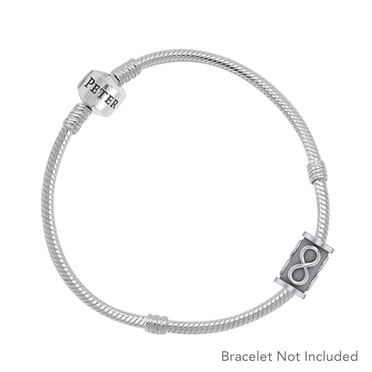 Infinity Silver Bead TBD356