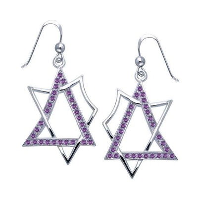 Modern Geometric Art TER1194 Earrings