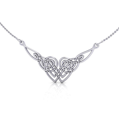 Celtic Knotwork Silver Necklace TN001