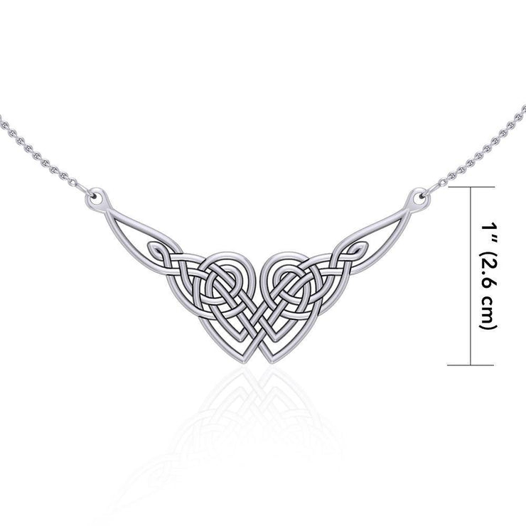 Celtic Knotwork Silver Necklace TN001 Necklace