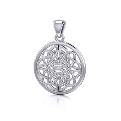 Celtic Shield Knot Pendant TP153