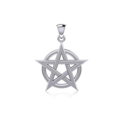 Silver The Star Pendant TP243