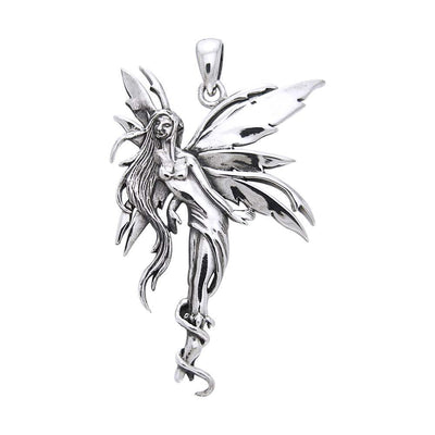 Firefly Fairy Silver Pendant TP2825