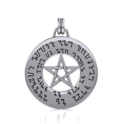 Silver The Star Pendant TP3291