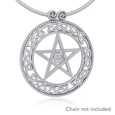 Silver The Star Pendant TP464