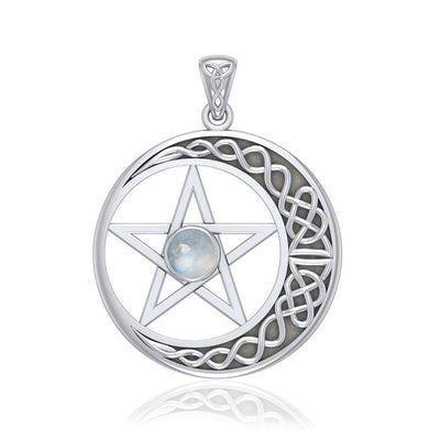 Behold the Timeless Magic of a Pentacle Pendant TP474