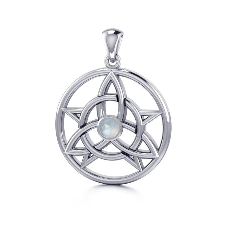 Celtic Trinity The Star Silver Pendant TPD134