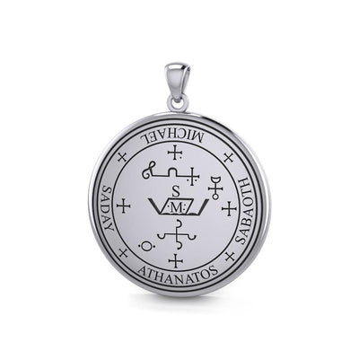 Sigil of the Archangel Michael Sterling Silver Pendant TPD2818