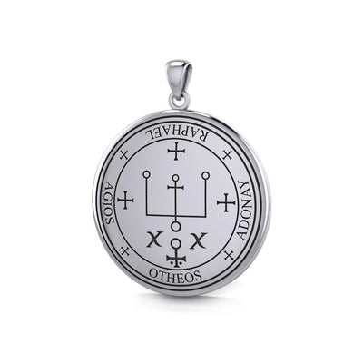 Sigil of the Archangel Raphael Sterling Silver Pendant TPD2820 Pendant