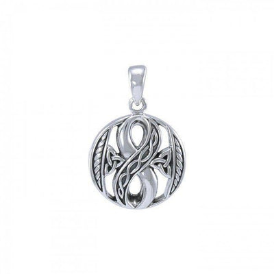 Endless Inspiration ~ Sterling Silver Celtic Knotwork Infinity Pendant Jewelry TPD3384 Pendant