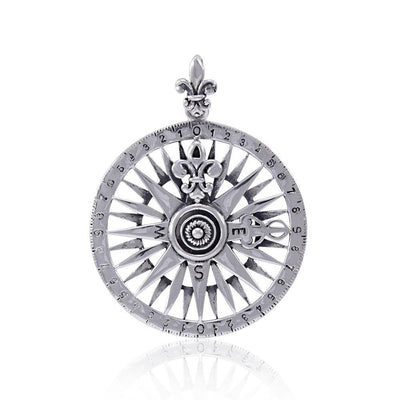 Compass Rose Pendant TPD4342