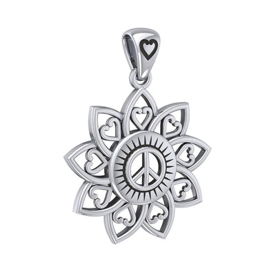 The Flower of Unity Silver Pendant TPD5132