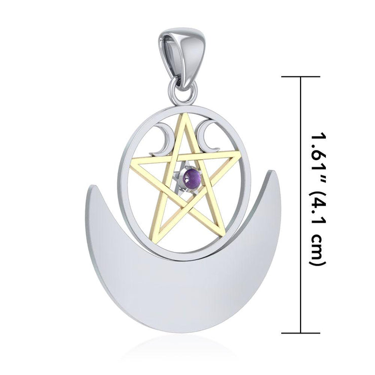 Wiccan Moon The Star TPV3235 Pendant