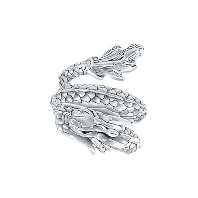 Coiled Eastern Dragon Ring TR1445