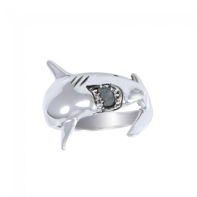 Great White Shark Ring TR1481