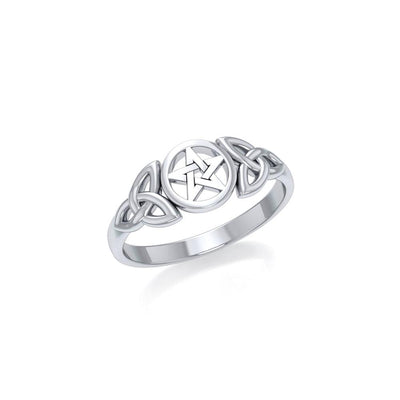 Silver The Star Ring TR1738