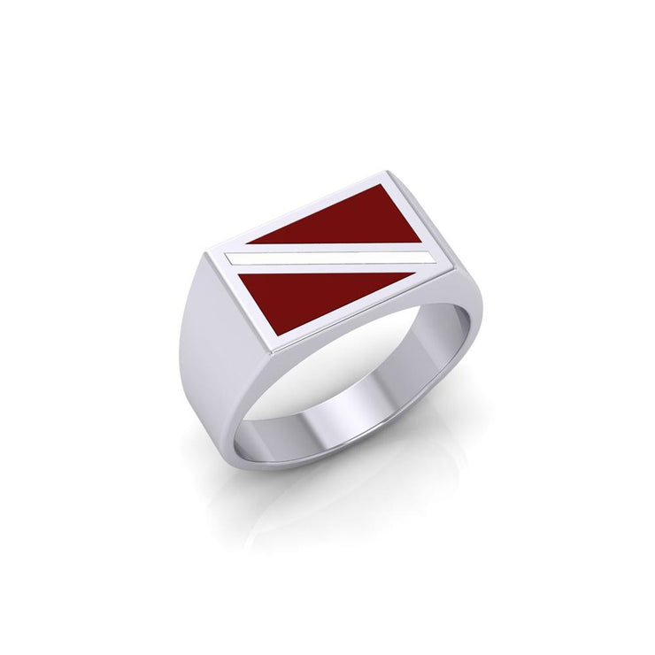 Dive Flag Ring TR1796