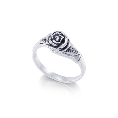 Rose Sterling Silver Ring TR364