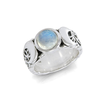 Blue Moon Silver Ring TR3766