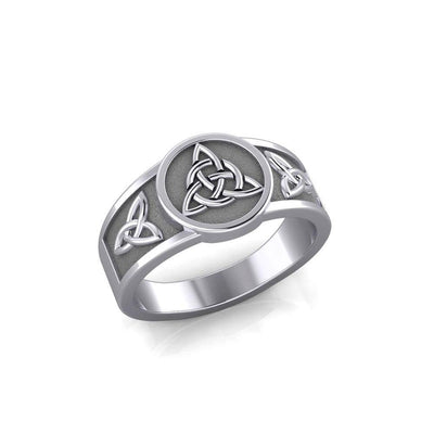 Triquetra Silver Ring TR3811