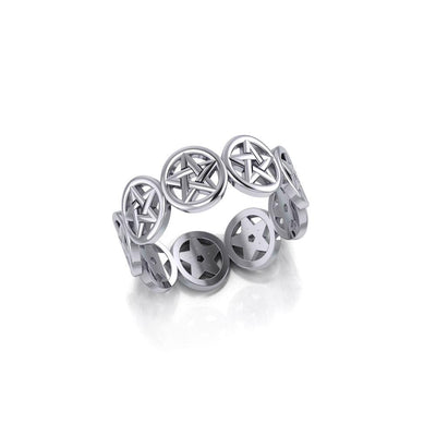 Silver The Star Ring TR972