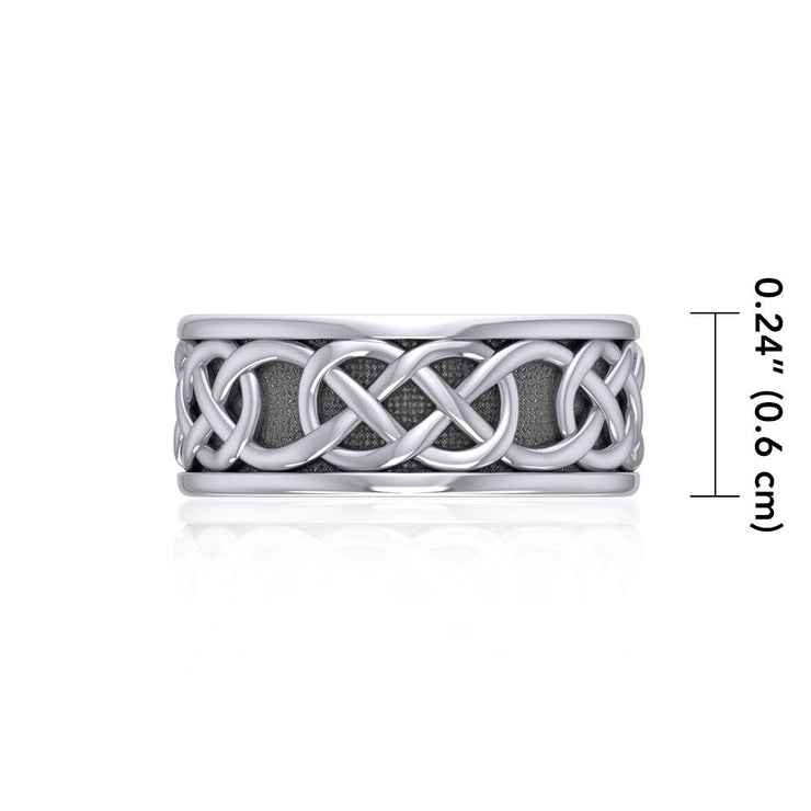 Celtic Knot Silver Ring TRI1206
