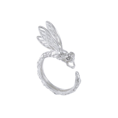 Sterling Silver Dragonfly Ring TRI1640