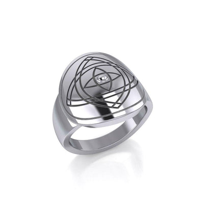 Life is inspiringly good. Stay focused Ring TRI628 Ring