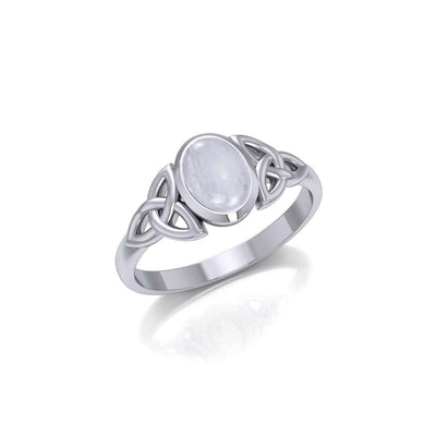 Celtic Triquetra Gemstone Ring TRI887