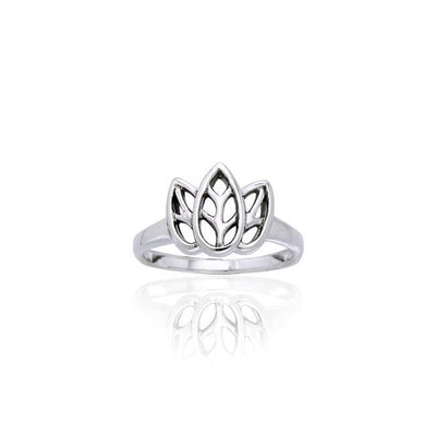 Citta Three leaf Sterling Silver Ring TRI907 Ring