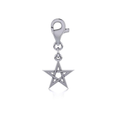 Silver The Star Clip Charm TWC010
