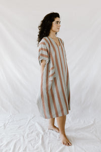 Grey/Rust New York Tunic