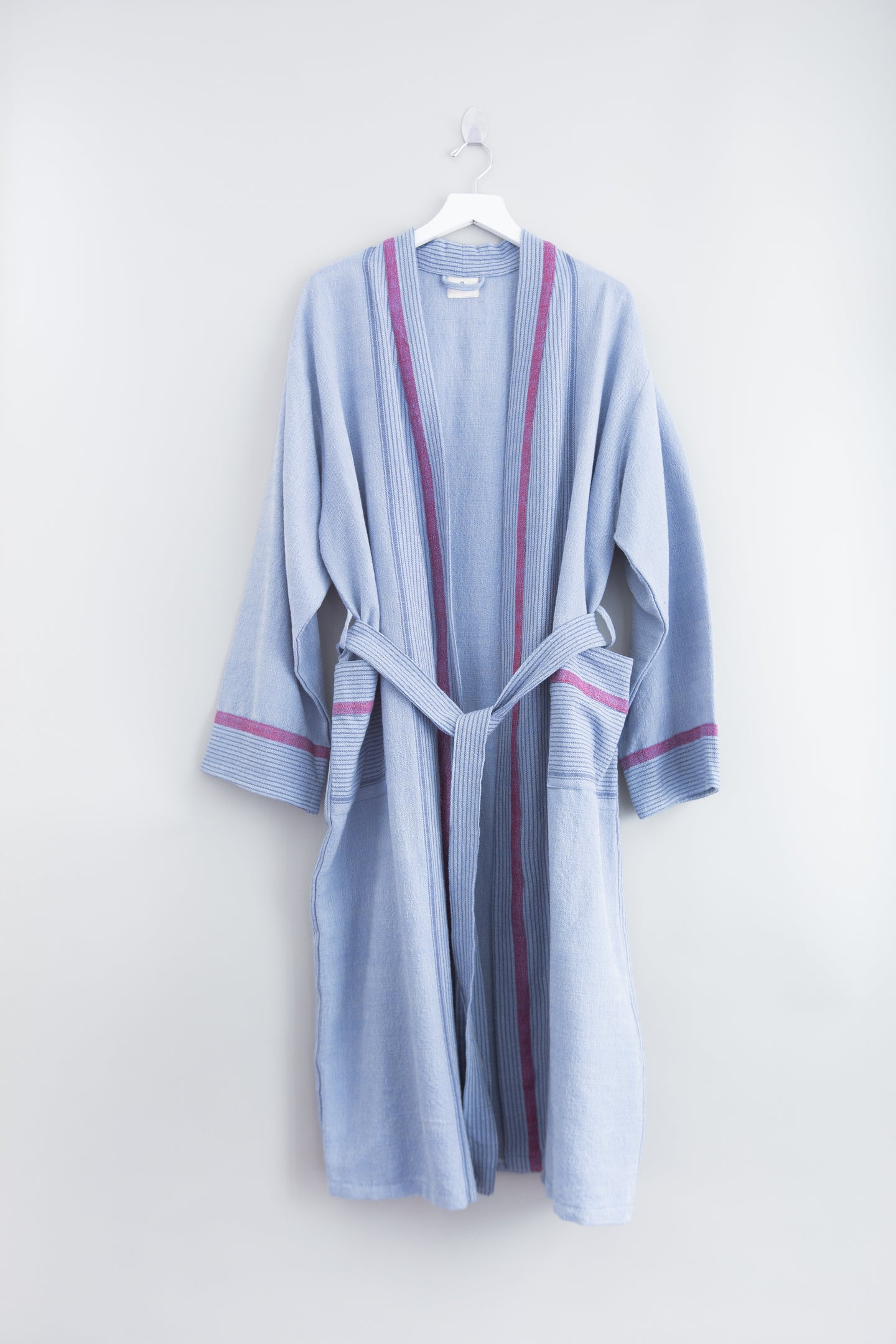 Denim Wash Tribeca Long Robe