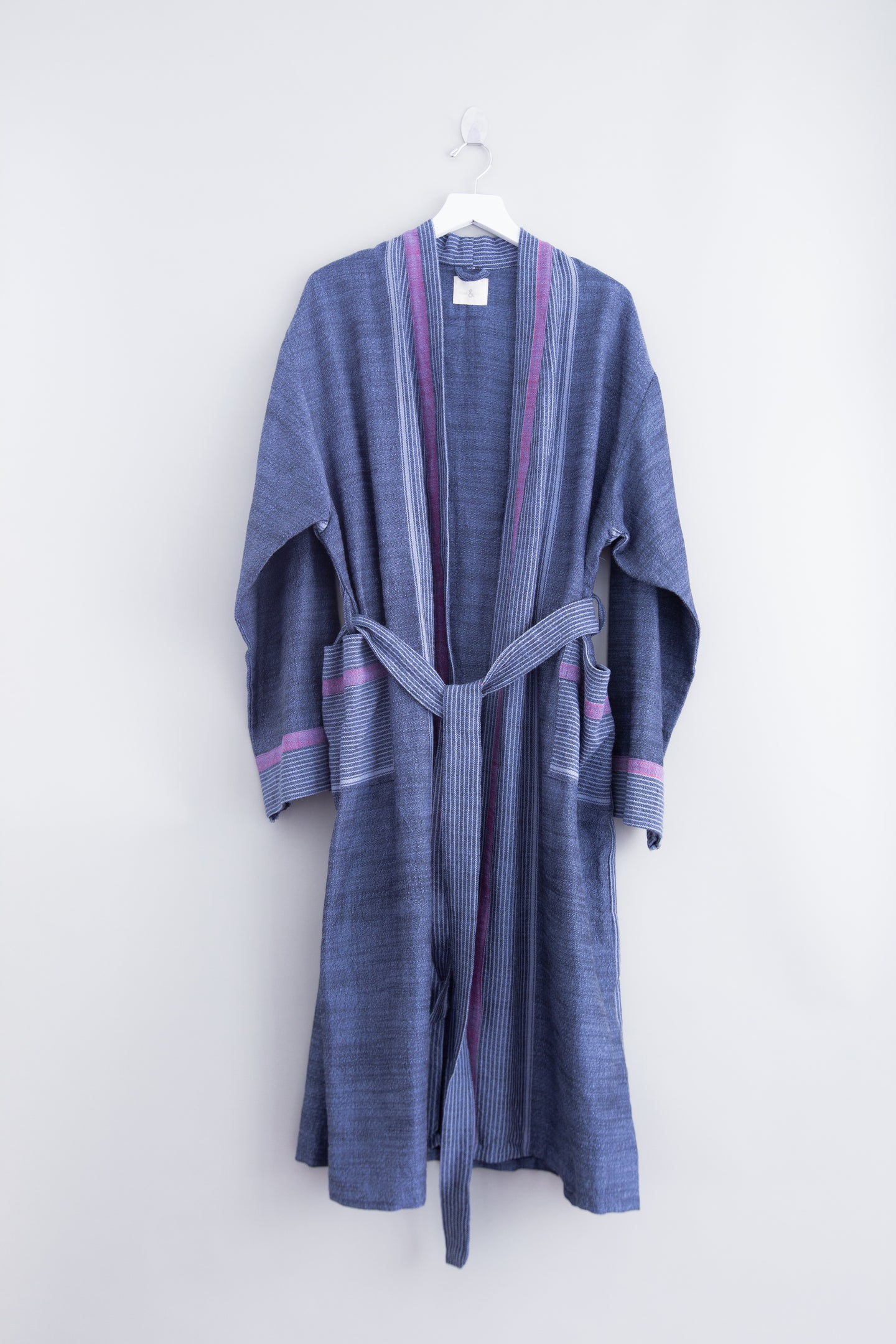 indigo tribeca long bathrobe