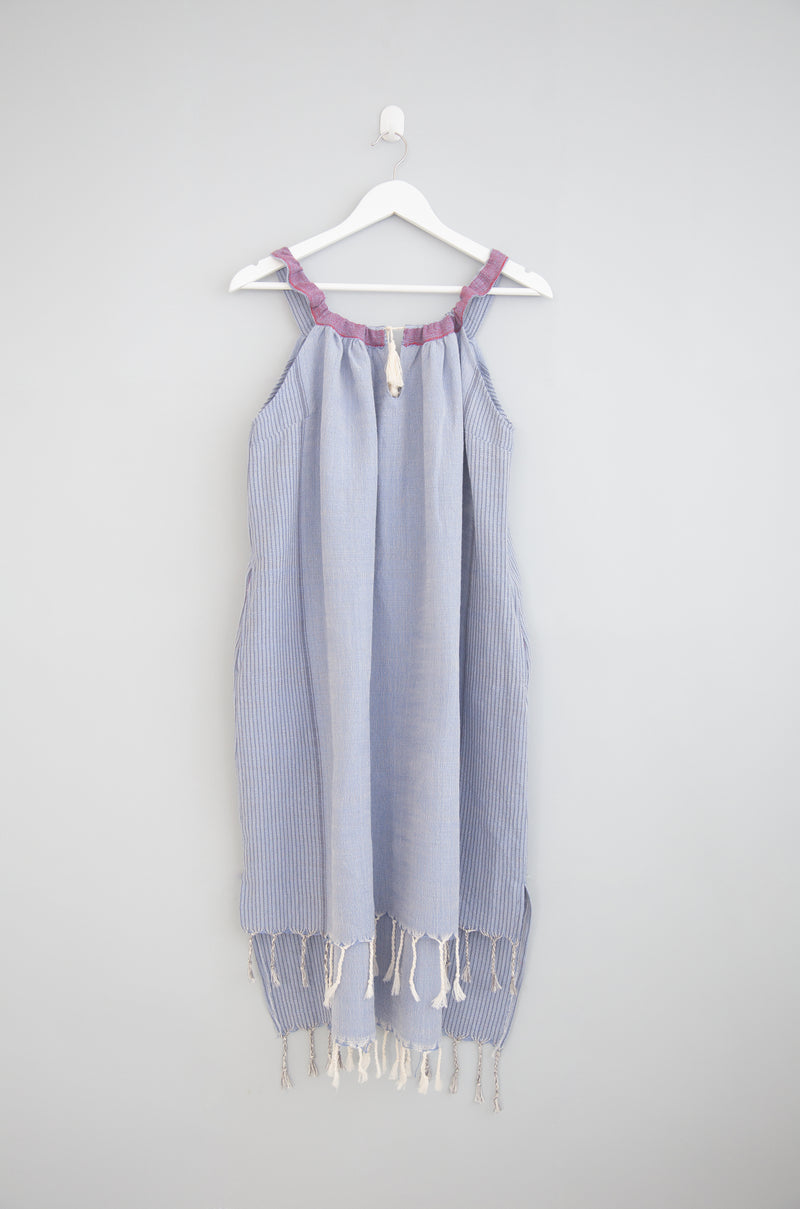 denim wash tribeca dress
