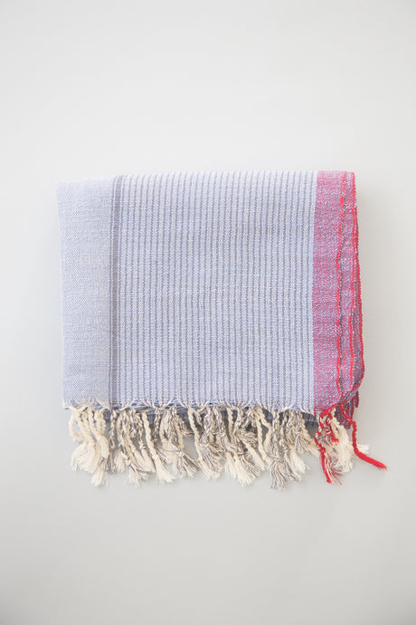 denim wash tribeca turkish cotton hand towel