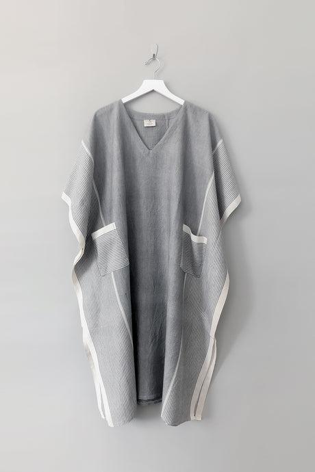 grey stripe tribeca tunic