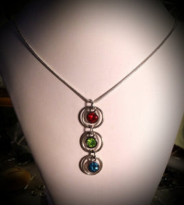 Silver Mother's Necklace