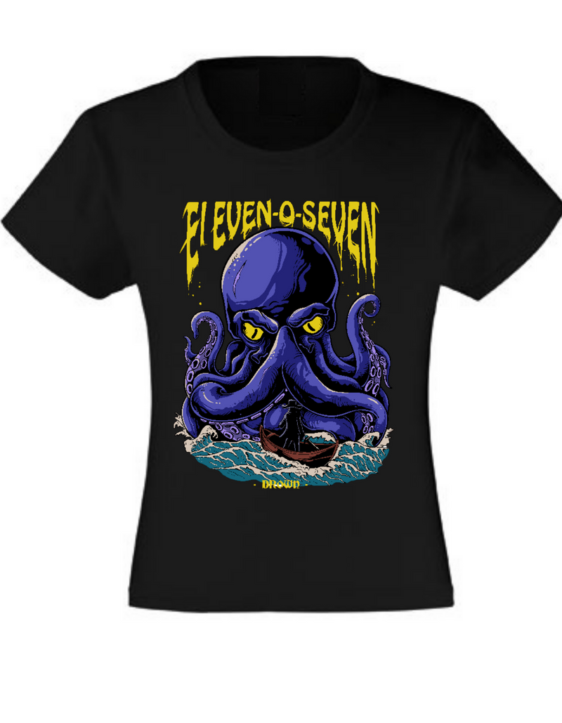 """Drown by Eleven-O-Seven"" Girls Shirt"