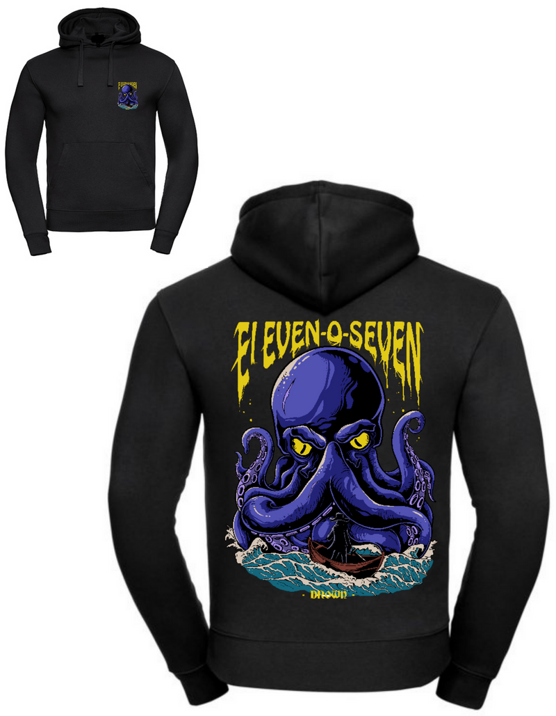 """Drown by Eleven-O-Seven"" Men Hoodie"