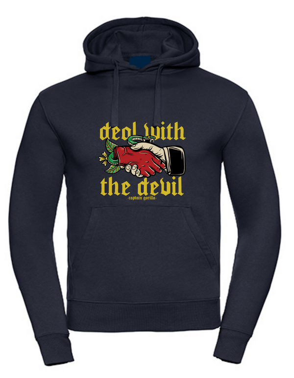 'Deal with the Devil' Slim Fit Hoodie - Men