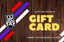 "Captain Gorilla ""Gift Card"""